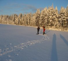 Зимняя сказка Финская Карелия